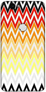 Snoogg Rainbow Shades Pattern 2575 Designer Protective Back Case Cover For Lg...