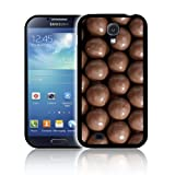 'CHOCOLATE MALTESERS' Exclusive Fitted Hard Polycarbonate Phone Case, Skin, Cover for SAMSUNG GALAXY S4 / SIV (GT-i9500) - Shock Resistant