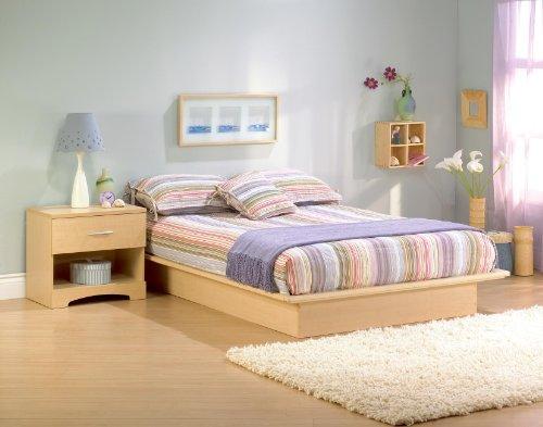 "Copley Full Platform Bed (54"") front-904373"
