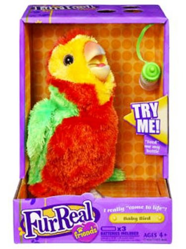 Fur Real Friends Collectible Bird - Green/Orange