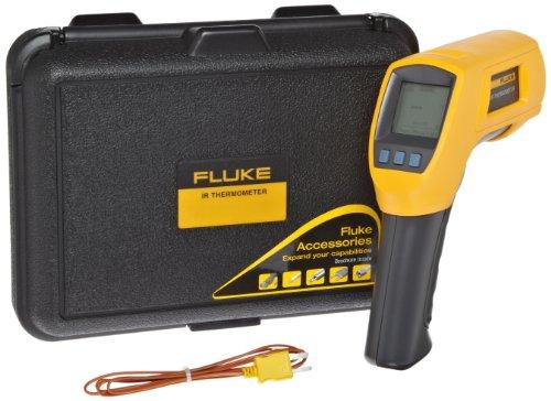 Fluke 566 Infrared Thermometer, 2AA/LR6 Battery, -40 to +1202 Degree F Range