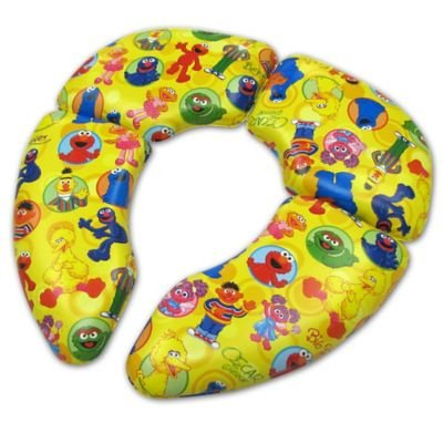 Ginsey Sesame Street ' Cushioned Folding Travel Potty Seat