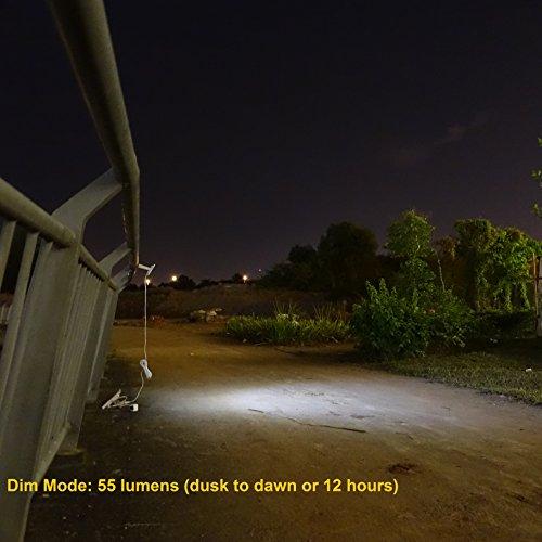 84 led solar powered dusk to dawn sensor waterproof. Black Bedroom Furniture Sets. Home Design Ideas