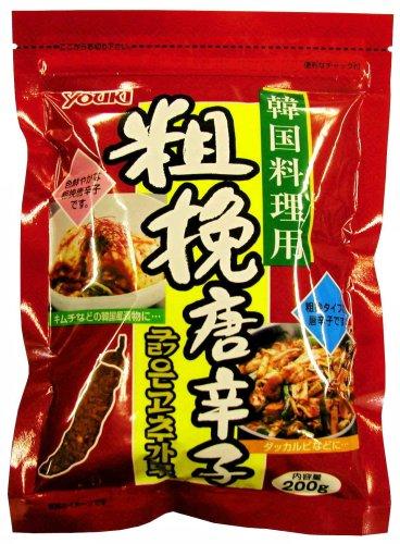 ユウキ 粗挽き唐辛子(韓国料理用) 200g