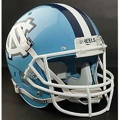 NORTH CAROLINA TAR HEELS 1995-2000 Schutt AiR XP Authentic GAMEDAY Football Helmet... by ON-FIELD