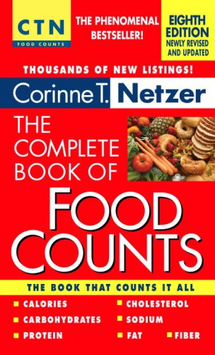 The Complete Book Of Food Counts, 8Th Edition front-838975