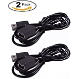 Pernos 2Pack 10foot 3Meter Extension Cable for  NES Classic Mini Edition Controller