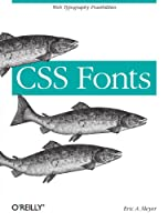 CSS Fonts Front Cover