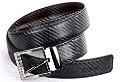Nerita Men Reversible Belt(Art_Leather_Black&Brown_506)