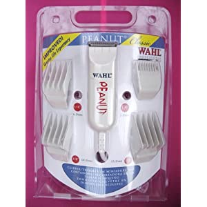 Wahl Pro PEANUT Palm Size Hair Trimmer Clipper 8685
