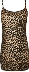 WearAll Women's Leopard Print Strappy…