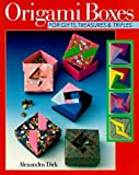 img - for Origami Boxes For Gifts, Treasures & Trifles by Dirk, Alexandra (1997) Paperback book / textbook / text book