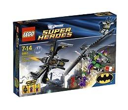 レゴ スーパー・ヒーローズ バットウィング ゴッサム・シティーでの空中戦 6863