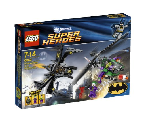 LEGO Super Heroes Batwing Battle Over Gotham City 6863 Amazon.com