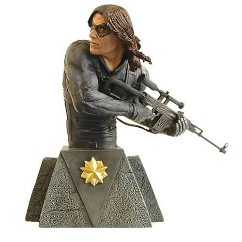 Marvel Universe Winter Soldier Bust - Buy Marvel Universe Winter Soldier Bust - Purchase Marvel Universe Winter Soldier Bust (Marvel Statues, Busts, Prop Replicas, Toys & Games,Categories,Action Figures,Statues Maquettes & Busts)