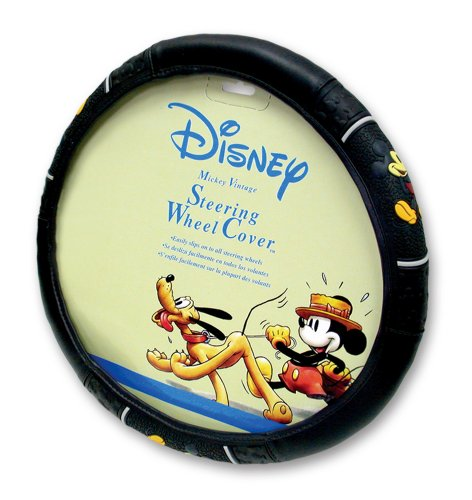 Vintage Mickey Style Steering Wheel Cover