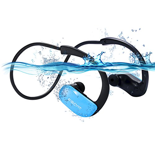 schwimmen mp3 headset kscat bluetooth 4 1 nice18f ipx8. Black Bedroom Furniture Sets. Home Design Ideas