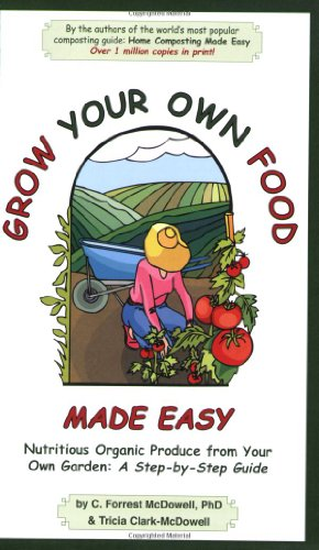 Grow Your Own Food Made Easy: Nutritious Organic Produce from Your Own Garden, A Step-by-Step Guide