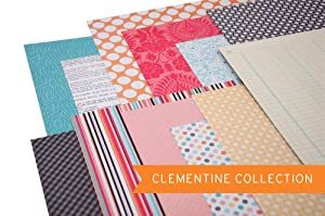 Project Life Designer Paper - Clementine Edition