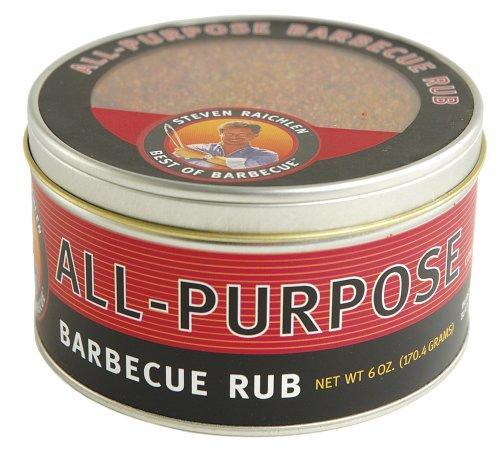 Steven Raichlen SR8055 6-Ounces Barbecue Rub, All Purpose