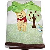 "Disney Winnie the Pooh Baby Fleece Plush Blanket 30"" X 40"""