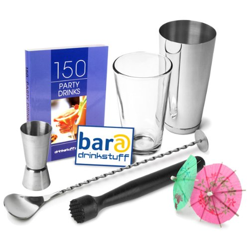 Professional Cocktail Book Cocktail Set  Boston