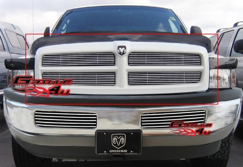 94-01 Dodge Ram Stainless Steel Billet Grille Grill Insert (1998 Dodge Ram 1500 Grill Emblem compare prices)