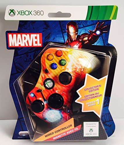 Xbox 360 Wired Controller – Marvel Iron Man Collector's Edition – Series 1