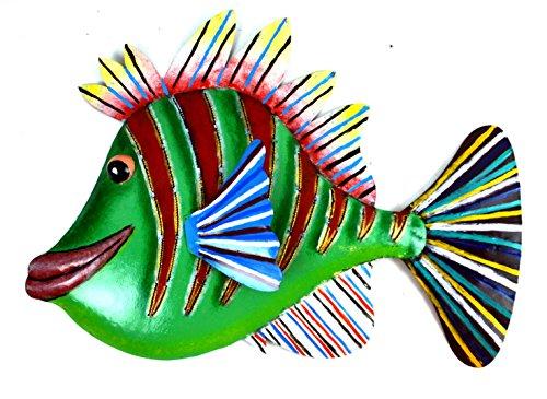metal fish wall art sculptures