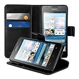 kwmobile Wallet Case Hülle für Huawei Ascend G520 / G525