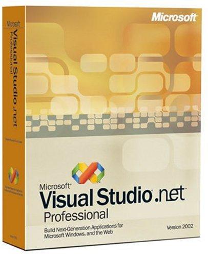 Visual Studio .net Pro 2002 Upgrade