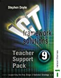 ICT Framework Solutions: Teachers Support Pack Year 9 (074879087X) by Doyle, Stephen