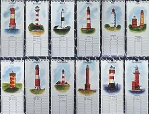 Ewiger Kalender Spiral - Geburtstagskalender Leuchtturm