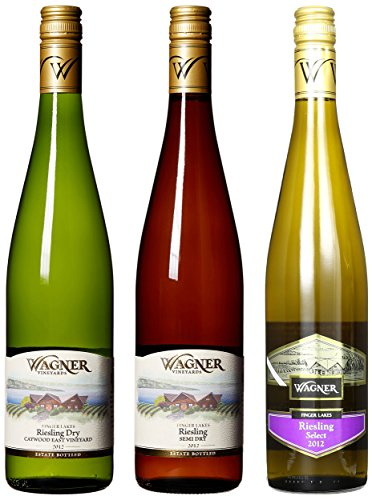 "Wagner Vineyards ""2012 Riesling Variety"" Mixed Pack 3 X 750 Ml"