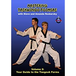Mastering Taekwondo Poomsae Volume 2: Your Guide to the Taegeuk Forms