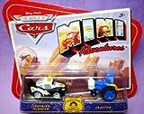 Disney CARS Mini Adventures Radiator Springs Lightning McQueen and Tractor
