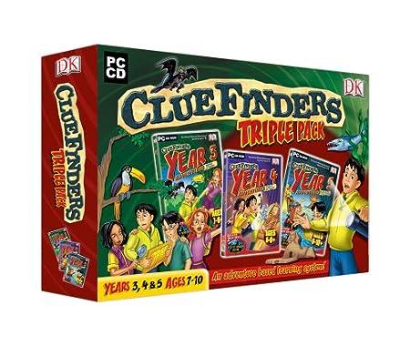 DK Cluefinders Triple Pack (PC)
