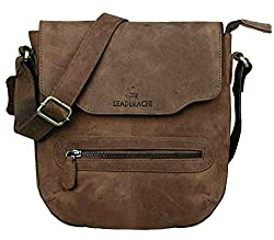 Leaderachi Leather 15Liters Muskat Messenger Bag