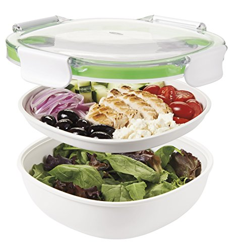 OXO Good Grips Leakproof On-The-Go Salad Container (Microwave On The Go compare prices)