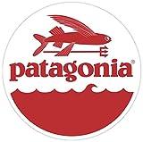 "PATAGONIA Flying Fish 4""x4"" Sticker Decal Vinyl Window Bumper Logo"