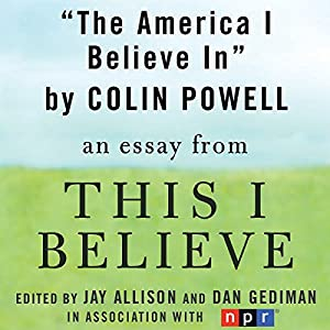 The America I Believe In Audiobook