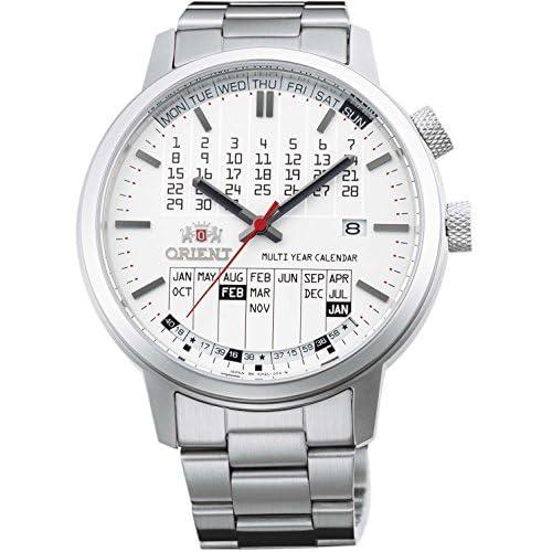 [オリエント]ORIENT 腕時計 STYLISH AND SMART スタイリッシュ&スマート STYLISH MULTI YEAR CALENDAR ホワイト WV0891ER