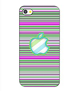 Crazymonk Premium Digital Printed 3D Back Cover For Apple I Phone 4S