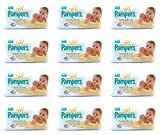 12 X 54 PAMPERS SENSITIVE BABY WIPES MAXIMUM CARE