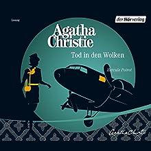 Tod in den Wolken Hörbuch von Agatha Christie Gesprochen von: Rainer Bock