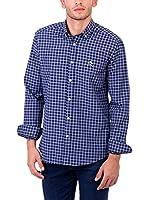 POLO CLUB Camisa Hombre Maverick Academy (Azul Marino)