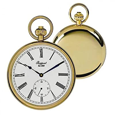 Rapport Pocket Watch PW94 Gold Plated Open Face