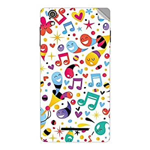 Garmor Designer Mobile Skin Sticker For XOLO Q710S - Mobile Sticker
