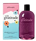 Philosophy With Gratitude Shampoo/Shower Gel/Bubble Bath, 16 Ounce
