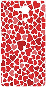 Hearts Animal Pattern Back Cover Case for Sony Xperia SP M35h